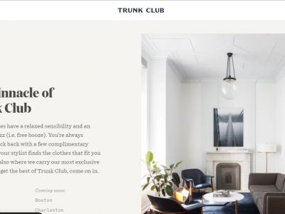 Trunk Club clothing for men